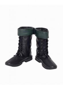 Arrow Season 5 Oliver Queen Halloween Cosplay Accessories Black Boots