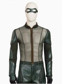 Arrow Season 5 Oliver Queen Halloween Cosplay Costume Long Sleeve Mesh Lining Clothing