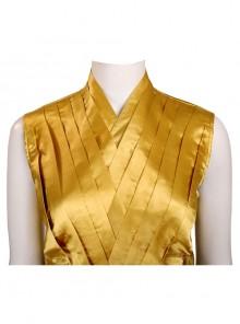 Doctor Strange Ancient One Cosplay Costume Yellow Waistcoat