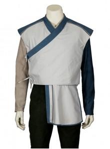 Doctor Strange Baron Mordo Halloween Cosplay Costume Gray Short Vest