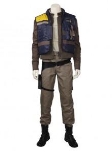 Rogue One A Star Wars Story Chirrut Imwe Halloween Cosplay Costume Full Set