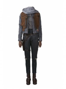 Rogue One A Star Wars Story Jyn Erso Halloween Cosplay Costume Full Set