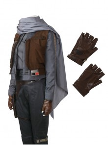 Rogue One A Star Wars Story Jyn Erso Halloween Cosplay Accessories Gloves And Scarf