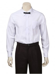 Fantastic Beasts And Where To Find Them Newt Scamander Halloween Cosplay Costume White Shirt And Bow Tie