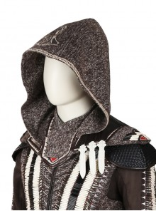 Assassin's Creed Aguilar Halloween Cosplay Costume Hooded Shoulder Pads