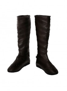 Assassin's Creed Aguilar Halloween Cosplay Shoes Dark Brown Boots