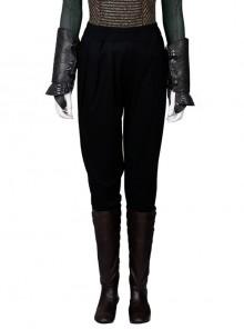 Assassin's Creed Sophia Halloween Cosplay Costume Black Trousers