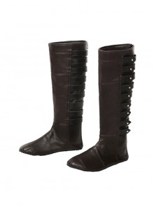 Assassin's Creed Sophia Halloween Cosplay Shoes Dark Brown Boots