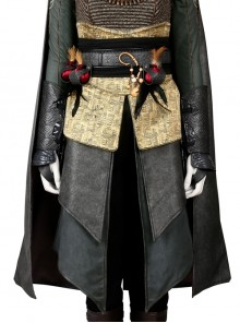 Assassin's Creed Sophia Halloween Cosplay Costume Beige Apron