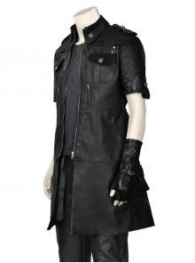 Final Fantasy XV Noctis Lucis Caelum Halloween Cosplay Costume Black Jacket