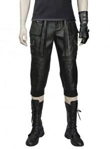 Final Fantasy XV Noctis Lucis Caelum Halloween Cosplay Costume Black Trousers