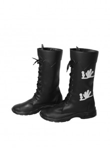 Final Fantasy XV Noctis Lucis Caelum Halloween Cosplay Shoes Black Boots