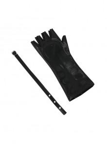 Final Fantasy XV Noctis Lucis Caelum Halloween Cosplay Accessories Black Glove And Belt