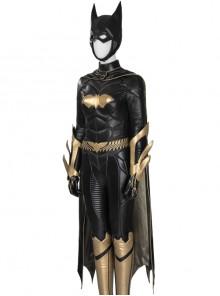 Game Batman Arkham Knight Batgirl Same Black Cloak Halloween Cosplay Costume