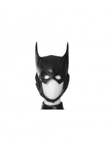 Game Batman Arkham Knight Batgirl Same Black Headgear Halloween Cosplay Costume