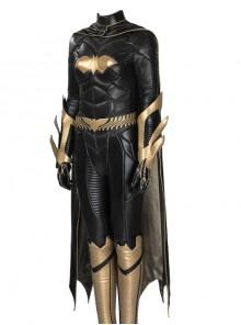Game Batman Arkham Knight Batgirl Same Black Bodysuit Halloween Cosplay Costume