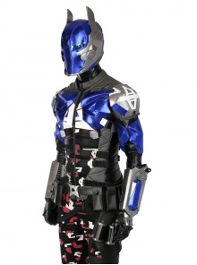 Game Batman Arkham Knight Arkham Knight Battle Suit Halloween Cosplay Costume Top And Pauldrons