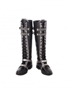 CG Movie Kingsglaive Final Fantasy XV Nyx Ulric Halloween Cosplay Costume Black Boots