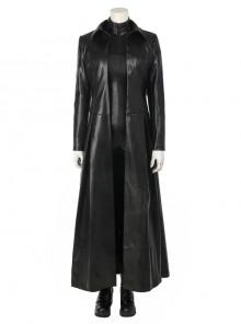 Underworld Blood Wars Selena Halloween Cosplay Costume Black Windbreaker Full Set