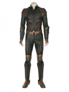 Justice League Aquaman Arthur Curry Battle Suit Halloween Cosplay Costume Full Set