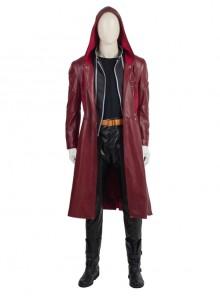 Japanese Anime Fullmetal Alchemist Edward Elric Halloween Cosplay Costume Full Set