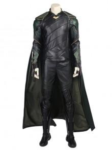 Thor Ragnarok Loki Battle Suit Halloween Cosplay Costume Full Set