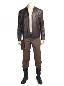 Star Wars The Last Jedi Poe Dameron Halloween Cosplay Costume Full Set