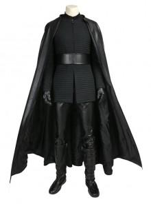 Star Wars The Last Jedi Kylo Ren Halloween Cosplay Costume Black Cloak Full Set
