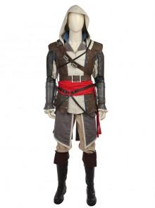 Assassin's Creed IV Black Flag Edward James Kenway Halloween Cosplay Costume Full Set