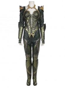 Justice League Aquaman Queen Mera Battle Suit Halloween Cosplay Costume Full Set