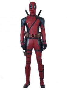 Deadpool 2 Deadpool Wade Winston Wilson Halloween Cosplay Costume Bodysuit Full Set