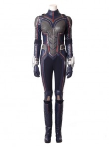Ant-Man And The Wasp Janet Van Dyne Wasp Battle Suit Halloween Cosplay Costume Bodysuit Full Set