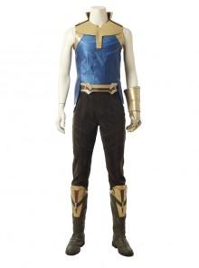 Avengers Infinity War Thanos Battle Suit Halloween Cosplay Costume Full Set