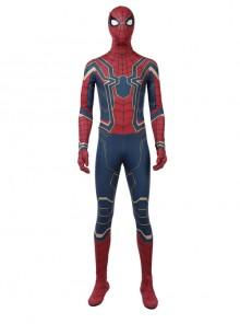 Avengers Infinity War Spider-Man Battle Suit Halloween Cosplay Costume Full Set