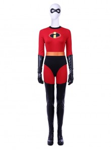 The Incredibles 2 Helen Parr Halloween Cosplay Costume Full Set