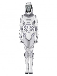 Ant-Man And The Wasp Ghost Ava Starr Battle Suit Halloween Cosplay Costume Full Set