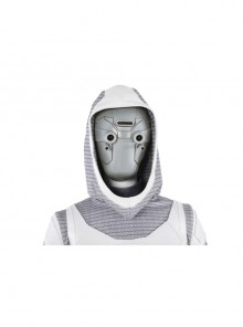 Ant-Man And The Wasp Ghost Ava Starr Halloween Cosplay Accessory Gray Mask