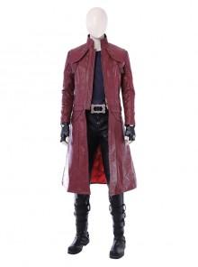 Devil May Cry 5 Dante Long Sleeve Windbreaker Version Halloween Cosplay Costume Full Set