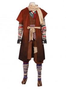 Sekiro Shadows Die Twice Shinobi Of The Divine Heir Wolf Halloween Cosplay Costume Full Set