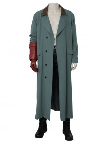 Hellboy Rise Of The Blood Queen Hellboy Anung Un Rama Halloween Cosplay Costume Green Coat Full Set Without Shoes