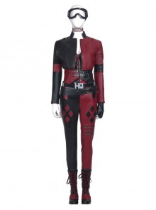 The Suicide Squad Harley Quinn Halloween Cosplay Costume Full Set Without Goggles