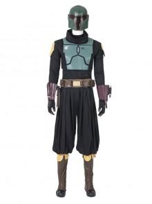 The Mandalorian Season 2 Boba Fett Halloween Cosplay Costume Set