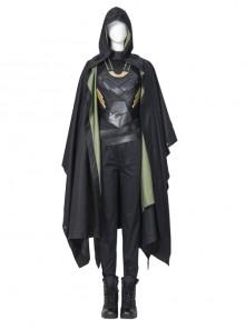 TV Drama Loki Female Loki Sylvie Lushton Halloween Cosplay Costume Upgraded Version Set