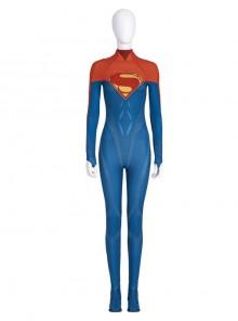 The Flash Movie Flashpoint Supergirl Battle Suit Halloween Cosplay Costume Bodysuit