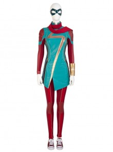 TV Drama Ms. Marvel Kamala Khan Halloween Cosplay Costume Set Without Shoes