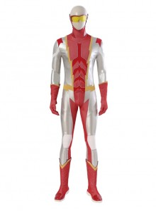 The Flash Season 7 Impulse Bart Allen Halloween Cosplay Costume Full Set Without Shoes