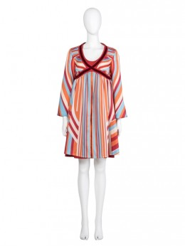 Wanda Vision Scarlet Witch Wanda Maximoff Halloween Cosplay Costume Striped Maternity Dress