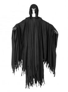 Harry Potter Dementor Halloween Cosplay Costume Black Cloak Full Set