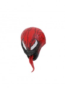 Venom Let There Be Carnage Carnage Cletus Kasady Halloween Cosplay Accessories Head Cover