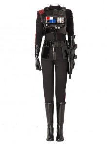 Star Wars Battlefront II Iden Versio Black Suit Halloween Cosplay Costume Set